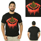 Last Kings Bleeding Eye Pryamid Illuminati Men's Crewneck T-Shirt
