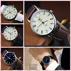 Men's Sport Quartz Analog Wrist Watch Round Wristwatch Business Classic Fashion