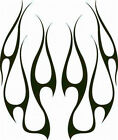 FLAME HOOD #18 DECAL VINYL GRAPHIC CAR TRUCK  BLAZE  SUV   SEMI CROSS OVER BLAZE