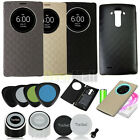 Qi Wireless Charger Charging Pad+Quick Circle Case With NFC Receiver For LG G4