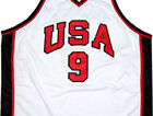 MICHAEL JORDAN TEAM USA WHITE JERSEY  NEW ANY SIZE XS - 5XL