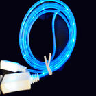 1M 3FT LED Light Micro USB Charger Sync Data Cable line for Samsung S2 S3 S4 S6