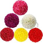 9 Colors Choose Rose Pomander Flower Kissing Ball Wedding Party Home Decoration