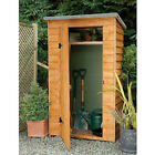 Wooden Garden Larchlap Pent Tool Store, Shed