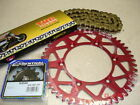 New THC Chain And Red Sprocket Kit RM RMZ RMX 125/250/450 82-15 Motocross