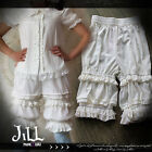 lolita fairy kei kiss baby chiffon intimate dress bloomer shorts JI2009