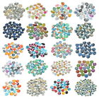 10PCs Mixed Glass Embellishments Flatback Scrapbooking for Phone Crafts DIY