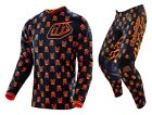NEW 2016 TROY LEE DESIGNS GP ANARCHY MX GEAR COMBO BLACK/ FLO ORANGE ALL SIZES