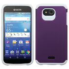For Kyocera Hydro Wave C6740 HARD Astronoot Hybrid Rubber Silicone Case Cover