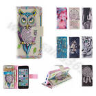 For iPhone Nokia Wiko Fantasy Dreams Synthetic PU Leather Card Flip Cases Covers