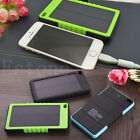 8000mAh Waterproof Solar Panel Power Bank External Battery Charger For Phone Pad