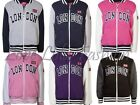 Childrens Jackets Girls Boys College Zip Sweatshirts London Tops Kids Sweaters