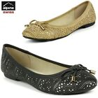 Womens Ballet Flats Suede Lined Ballerina Slippers Slip On Shoes Comfort Loafers