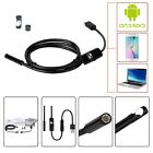 5M 2M Android  Endoscope 7mm 6 LED USB  Waterproof Borescope Inspection Camera For Sale