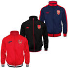 Arsenal FC Official Football Gift Boys Retro Track Top Jacket (RRP £34.99!)