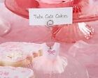30 Tutu Cute Ballerina Place Card Holders Baby Shower Favors