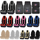 NHL Columbus Blue Jackets Rubber Front Rear Floor Mat Seat Cover Universal Set $84.95 USD on eBay
