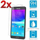 2x Wholesale Lot for Samsung Galaxy Note 4 Clear Tempered Glass Screen Protector