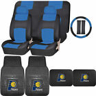 Synthetic Leather Seat Covers NBA Indiana Pacers Rubber Floor Mat Universal on eBay