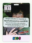NYCC 2015 New York Comic Con  Sunday Kids Pass Ticket Badge Comicon In Hand