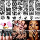 BC 01-10 Nail Art Lase Pattern Image Stamping Plates Manicure Template + GIFT