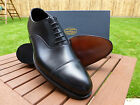 "Crockett & Jones HAND GRADE - ""Lonsdale"" Chelsea Toecap Oxford - Black Calf"