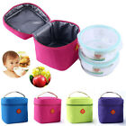 2015 Waterproof Portable Picnic Tote Lunch Bag Insulated Zipper Storage Box