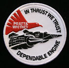 US AIR FORCE SR-71 BLACK BIRD IN THRUST WE TRUST ENGINE PATCH SKUNK WORKS Patch