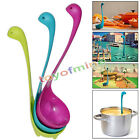 3 x Cute Nessie Kitchen Bar Gifts Home Soup Ladle Cool Loch Ness Monster Spoons