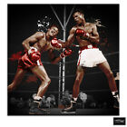 Sugar Ray Robinson Boxing  Sports BOX FRAMED CANVAS ART Picture HDR 280gsm