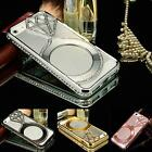 Luxury Rhinestone Diamond Bling Crystal Metal Bumper Case Cover For iPhone 6 4.7