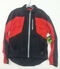 CANNONDALE Men's Morphis CYCLING Rain JACKET windproof, winter, Black/Red