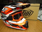New 2016 THH TX12 Flo Orange Helmet & OR Thor Goggles S M L XL Motocross Enduro