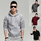 Fashion Casual Mens College Hoodie Hooded Jacket Sweatshirt Sport Coat Cardigan