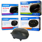 MARINA AIR PUMP POWERFUL QUIET FLOW OXYGEN BUBBLES AIR STONE FISH TANK AQUARIUM