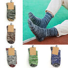 CHIC Fashion Mens Socks Sport Crew Ankle Low Cut Retro Color Casual Socks New