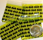 "Batman baggies 2 x 2"" Apple mini ziplock bags 100 200 500 1000 reclosable"