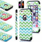 Shockproof Hard Bumper Soft Rubber Hybrid Slim Case Cover For iPhone 6 / 6 Plus