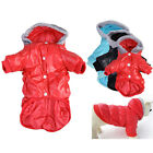 Warm Pet Cat Dog Puppy Winter Padded Coats Clothes Hoodie Coat Fur Lined Jacket