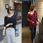 CHIC Women's Loose Long Sleeve Casual Blouse Shirt Tops Fashion Blouse New Hot