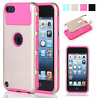 Shockproof Heavy Duty Case Cover for Apple iPod Touch 5th/6th & Screen Protector