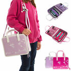 "Kids Childrens Girls Handbag Storage Travel Bag For Leapfrog Epic 7"" Tablet"