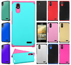 For ZTE WARP ELITE N9518 HARD Astronoot Hybrid Rubber Silicone Case Phone Cover