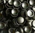 SMALL - MED- LARGE BLACK SNAP ON DOME SCREW COVER CAPS WITH WASHER