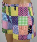 Ralph Lauren Sport Patchwork Plaid Striped Shorts NWT $100