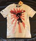 Red Monkey Los Angeles Tokyo Tour '76 T-Shirt Light Gray Red Logo Front/Back