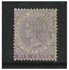 Malaya Straits Settlements - 1867/72, 6c Lilac - Used - SG 13/13a