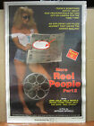 "Vintage ""More Reel People Part 2"" Rated X movie hot girl man cave  3732"