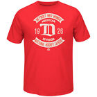 Detroit Red WIngs NHL Vintage Collection Executed Play Mens Red T-Shirt