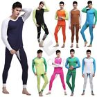 Fashion Mens Thermal Underwear Sets Long Johns Top & Bottom Pajamas CANK139